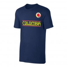 Colombia CA2019 'Qualifiers' t-shirt, dark blue