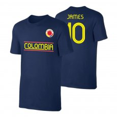 Colombia CA2019 'Qualifiers' t-shirt JAMES, dark blue