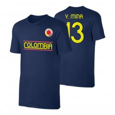 Colombia CA2019 'Qualifiers' t-shirt MINA, dark blue
