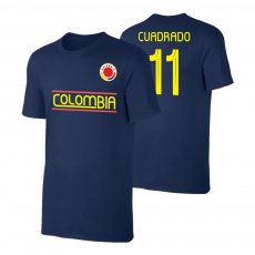 Colombia CA2019 'Qualifiers' t-shirt CUARDADO, dark blue