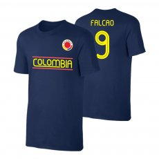 Colombia CA2019 'Qualifiers' t-shirt FALKAO, dark blue