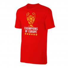 Liverpool '6 TROPHIES' t-shirt, red