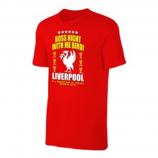Liverpool 'Boss Night' t-shirt, red