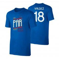 Paraguay CA2019 'TROPHY' t-shirt VALDEZ, blue