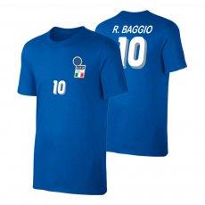 Italia 1994 retro t-shirt BAGGIO, blue