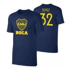 Boca Juniors 'Emblem19' t-shirt TEVEZ, dark blue