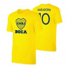 Boca Juniors 'Emblem19' t-shirt MARADONA, yellow