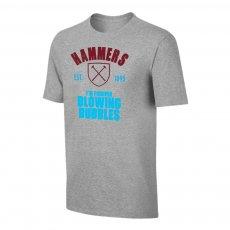 West Ham 'Est.1895' t-shirt, grey