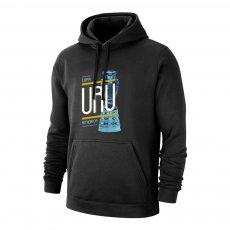 Uruguay CA2019 'TROPHY' footer with hood, black