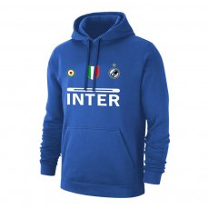 Inter 'Vintage 97/98' footer with hood, blue
