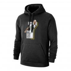 Juventus 'No7' footer with hood RONALDO, black