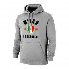 Milan 'Est.1899' footer with hood, grey