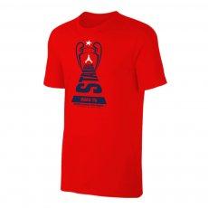 Paris Saint Germain 'Road to ISTANBUL' t-shirt, red