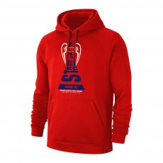 Atletico Madrid 'Road to ISTANBUL' footer with hood, red