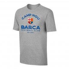 Barcelona 'Estadio' t-shirt, grey