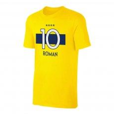 Boca Juniors 'Shirt 19' t-shirt ROMAN, yellow