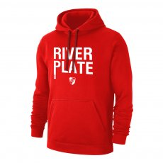 River Plate '1901' footer with hood, red