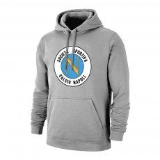 Napoli 'Retro Logo' footer with hood, grey