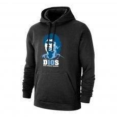 Maradona 'D10S' footer with hood, black