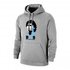 Maradona 'D10S' footer with hood, grey