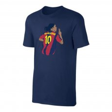 "Barcelona ""Ronnie No10"" t-shirt, dark blue"