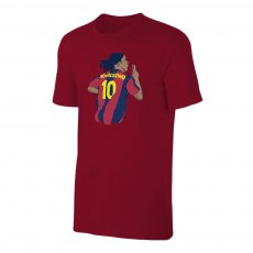 "Barcelona ""Ronnie No10"" t-shirt, crimson"