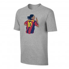 "Barcelona ""Ronnie No10"" t-shirt, grey"