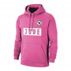 Juventus 'Vintage' retro footer with hood, pink