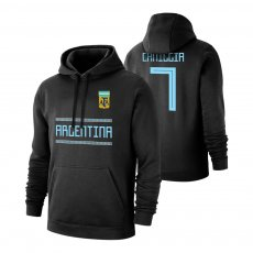 Argentina WC2018 'Qualifiers' footer with hood CANIGGIA, black