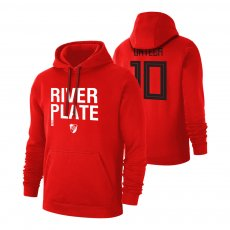 River Plate '1901' footer with hood ORTEGA, red