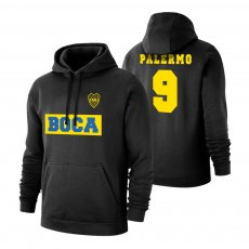 "Boca Juniors ""Text19"" footer with hood PALERMO, black"