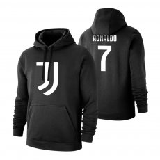 Juventus 'Emblem' footer with hood RONALDO, black
