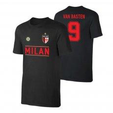 Milan 'Team' t-shirt VAN BASTEN, black