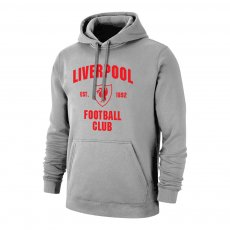Liverpool 'Est.1892' footer with hood, grey