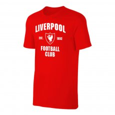 Liverpool 'Est.1892' t-shirt, red