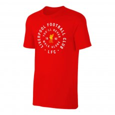 Liverpool 'Circle' t-shirt, red