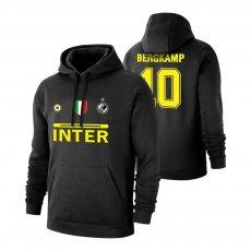 Inter 'Vintage 97/98' footer with hood BERGKAMP, black