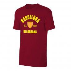 Barcelona 'Est.1899' t-shirt, crimson