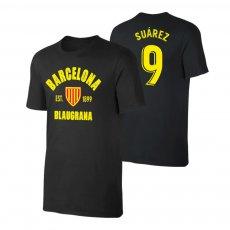 Barcelona 'Est.1899' t-shirt SUAREZ, black