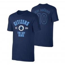 Manchester City 'Est.1894' t-shirt AGUERO, dark blue