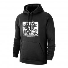 St. Pauli 'The Sound Of' footer with hood, black