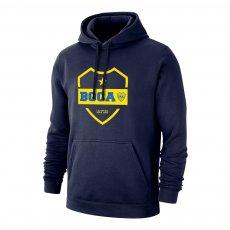 """Boca Juniors """"La Mitad Mas Uno 19"""" footer with hood, dark blue"""
