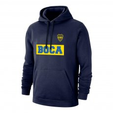 "Boca Juniors ""Text19"" footer with hood, dark blue"