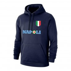 Napoli 'Target' footer with hood, dark blue