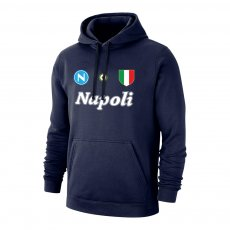 Napoli 'Vintage 86/87' footer with hood, dark blue