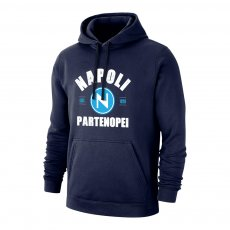 Napoli 'Est.1926' footer with hood, dark blue