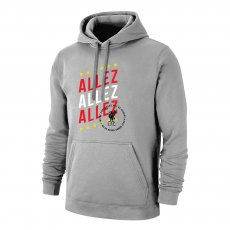 Liverpool '3 ALLEZ' footer with hood, grey