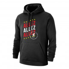Liverpool '3 ALLEZ' footer with hood, black