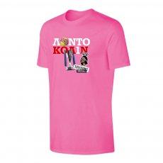 Tsitsipas Hooligans 'ΛΟΝΤΟ ΚΟΛΙΝ' t-shirt, pink