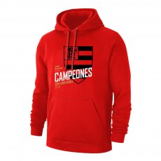 Flamengo 'Campeones 19' footer with hood, red